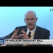 Debating Nigeria's petroleum Industry bill at Nigeria Oil and Gas summit